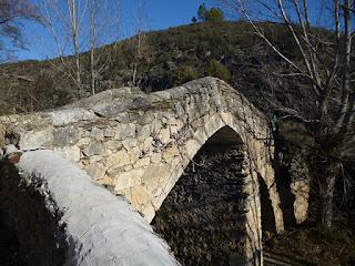 """Puente """"romano"""" de Tortuero"""
