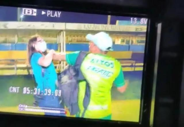 Jornalista é agredida durante partida do Campeonato Piauiense em Altos