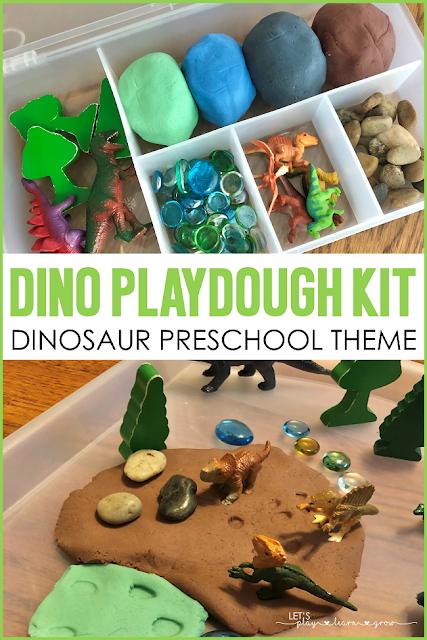 Dinosaur Playdough Kit