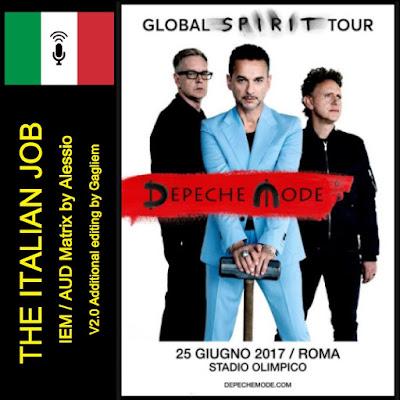 T U B E Depeche Mode 2017 06 25 Rome It Iem Aud Flac The Italian Job