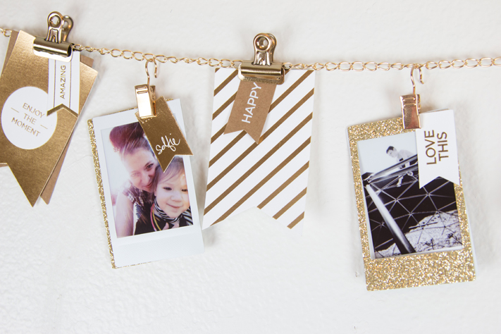 DIY Instax Photo display frame by @createoften for @heidiswapp