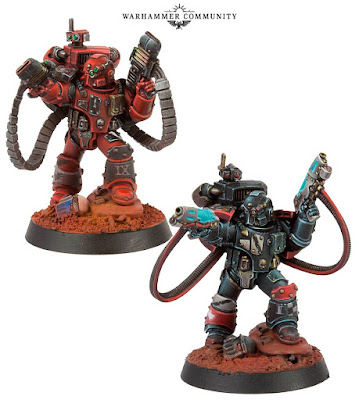 Legion Moritat with plasma pistols & volkite serpenta