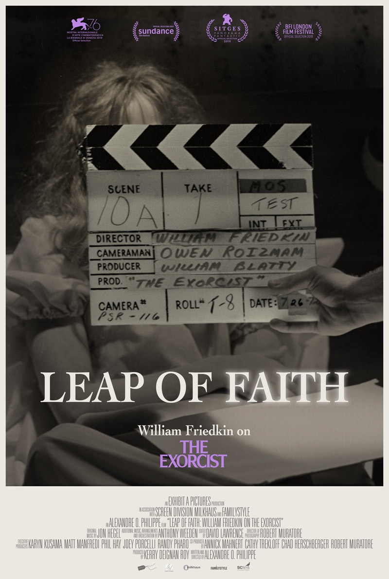 Leap of Faith: William Friedkin on The Exorcist poster