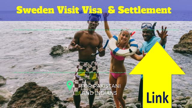 Sweden Visit Visa & Work Visa & Settlement