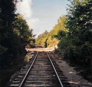 Abandoned Railway Tracks Ontario