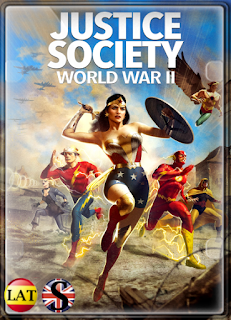 Justice Society: World War II (2021) FULL HD 1080P LATINO/INGLES