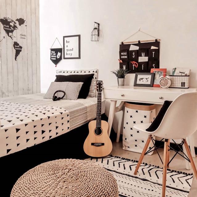 Furniture Kamar Tidur Remaja Laki-laki Kekinian