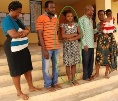 Photo: Mother Forced To Sell Her Baby For 30,000 Naira In Onitsha Anambra, Child Trafficker Arrested