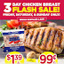 Tops Markets Flash Sale:  Boneless Chicken for as low as $0.99 a pound!!!