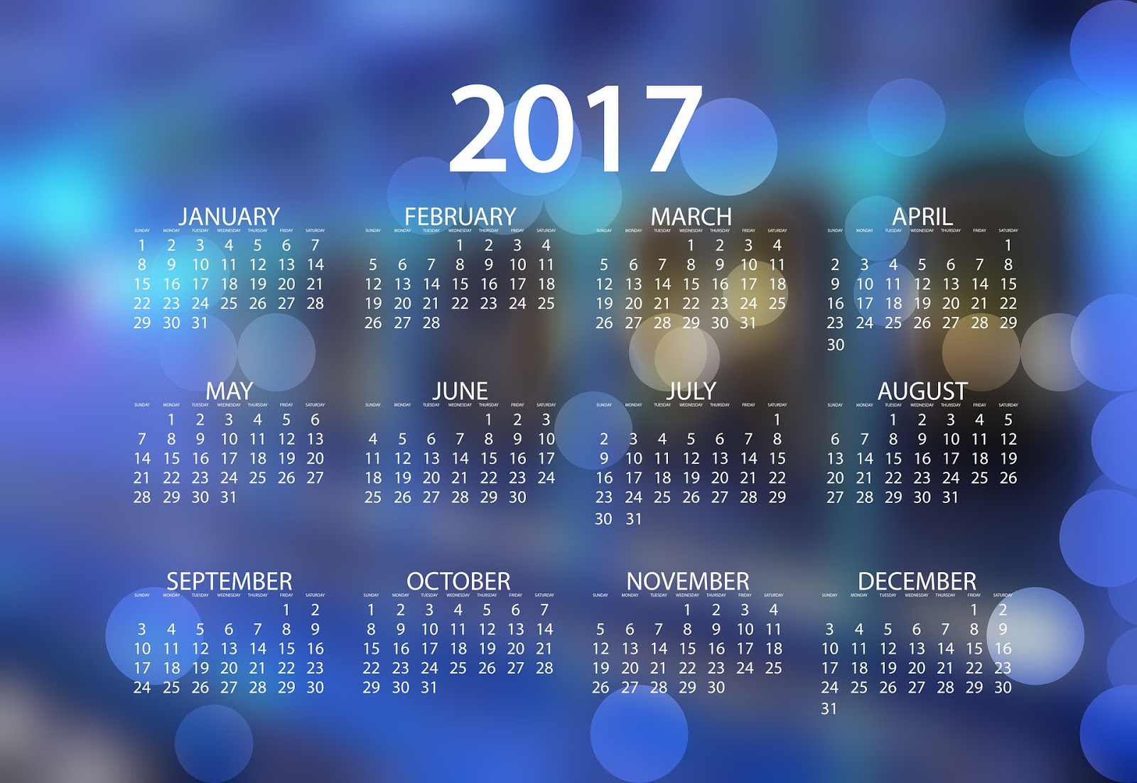 Bangla Happy New Year 2017 Calendar