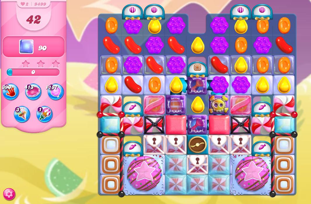 Candy Crush Saga level 9499