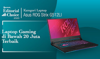laptop gaming terbaik asus ROG Strix G15 G512L pricebook choice 2020