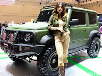 Ide Modifikasi Suzuki Jimny Tough Concept