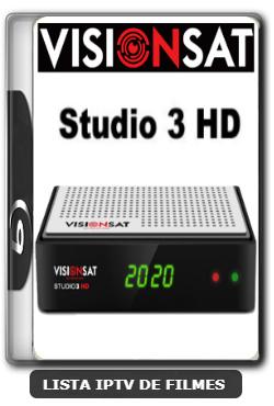 Visionsat Studio 3 HD Nova Atualização 61W, 63W, 107W, IKS e VOD V1.60 - 07-01-2020