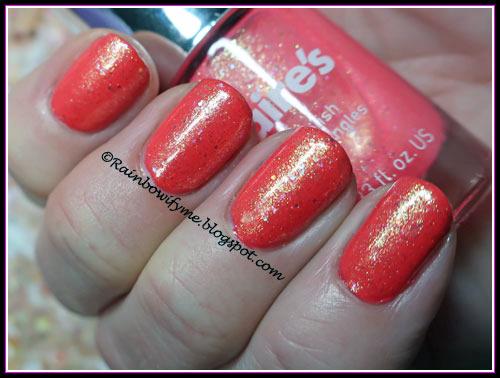 Maybelline: 110 Urban Coral & Claire's 47814 Neon Coral