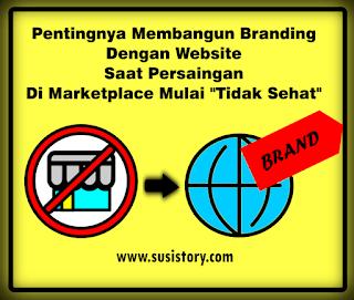 pentingnya membangun website saat persaingan di marketplace mulai tidak sehat, domain murah, hosting murah, hosting unlimited, email domain