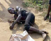 Sango Otta, Lagos,Ritualist,Caught with Human Head