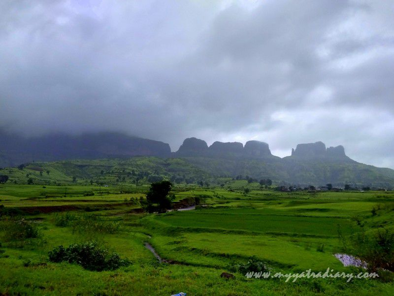 Natural wonder on the Trimbakeshwar -Ghoti road near Nashik, Maharashtra