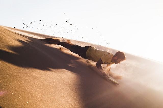 Sandboard, trò chơi không dành cho người yếu tim