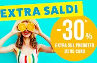 Pittarello Extra Saldi : - 30% di sconto sul prodotto meno caro (cumulabile)