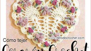 Hermoso Corazón para tejer a Crochet / Paso a paso