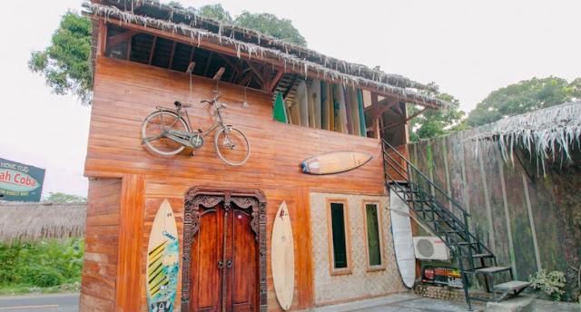 20 Foto Tempat Penginapan murah di Pantai Citepus Sukabumi