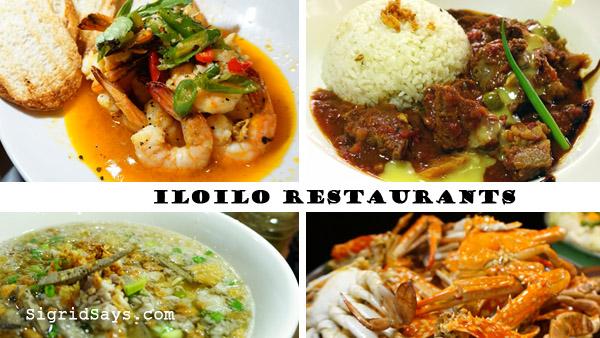Iloilo restaurants - visit Iloilo