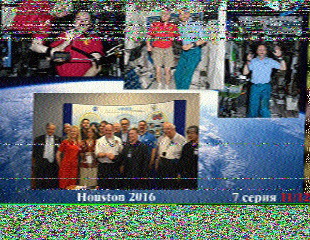 Makers eXperimenters and Operators: ISS SSTV (23:23 UK) 20th