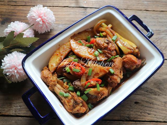 Ayam Masak Kicap Mudah dan Sedap