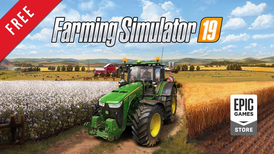 farming simulator 19 free pc game epic games store agriculture simulation game giants software focus home interactive
