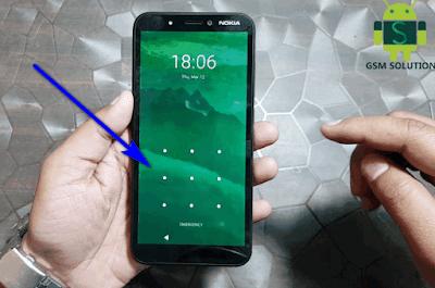 Nokia C1 TA-1165 Screen Lock(Pin-Pattern-Password)Unlock By Hard Reset