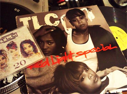 TLCのレコードの写真です。