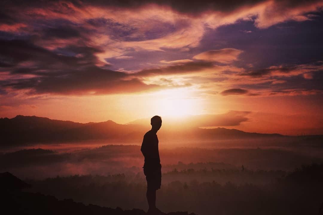 Sunset di Bukit Gunung Ireng