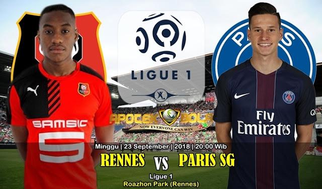 Prediksi Rennes Vs PSG 23 September 2018