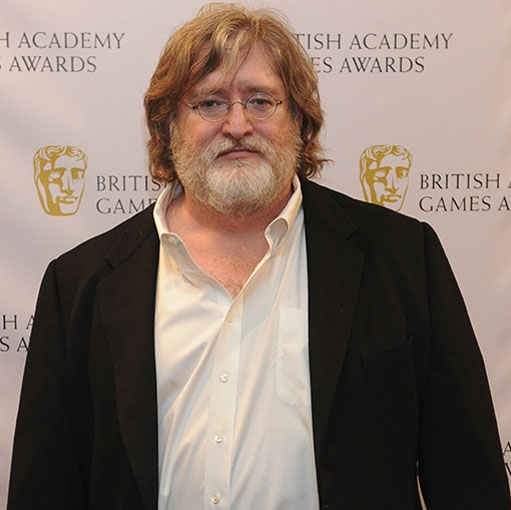 Gabe Logan Newell is an American businessman and the co-founder and president of the video game developer and digital distribution company Valve.