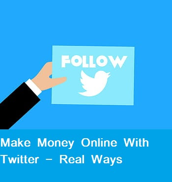 How to make money online with Twitter