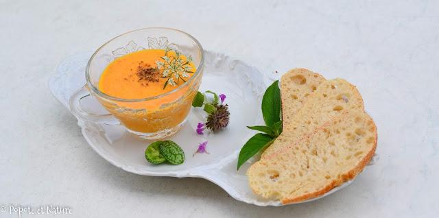 Crémeux de carottes aux épices © Popote et Nature