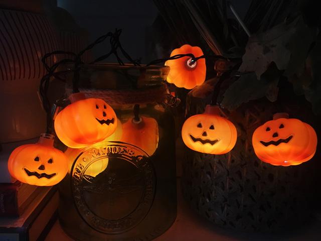 Jack o lantern lights