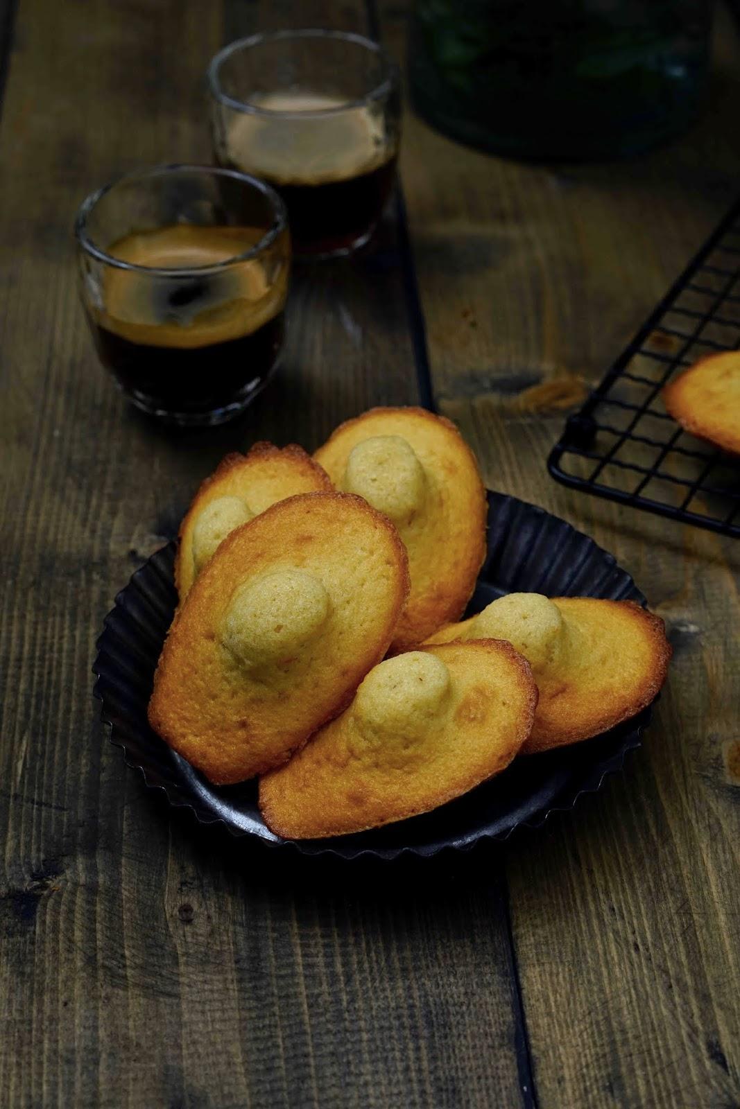 madeleines , recette traditionnelle , recette Lenôtre , farine d'épeautre