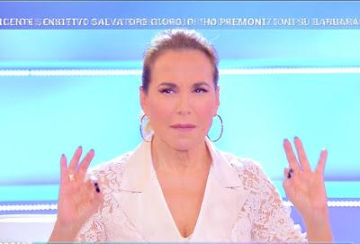 Barbara D'Urso pomeriggio Cinque 29 ottobre Sanremo