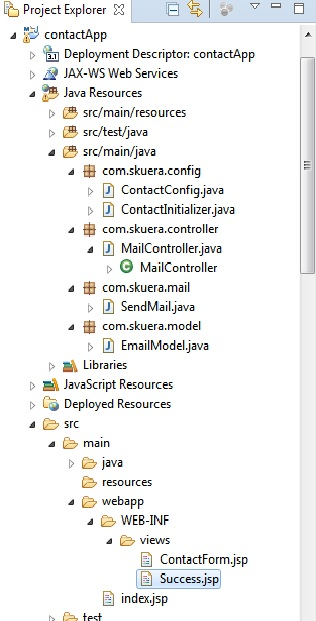 Send E Mail In Java Spring Mvc Using Gmail Smtp Server Example