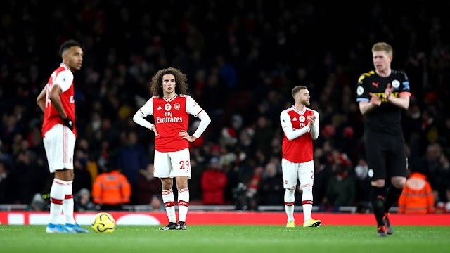 Arsenal 0-3 Manchester City: Gunners Pay Heavily for United Win