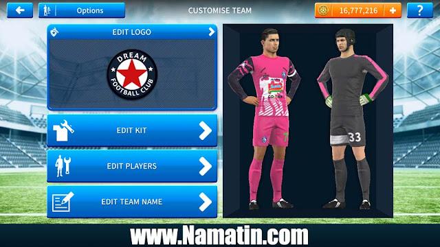 Kaos Dream League Soccer Arema