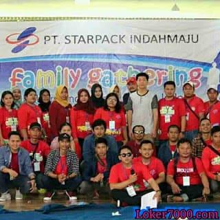 Lowongan Kerja Operator Gudang PT Starpack Indah Maju Pulogadung Jakarta 2019
