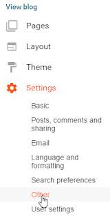 Cara Memindahkan Postingan Blog ke Blog Lain