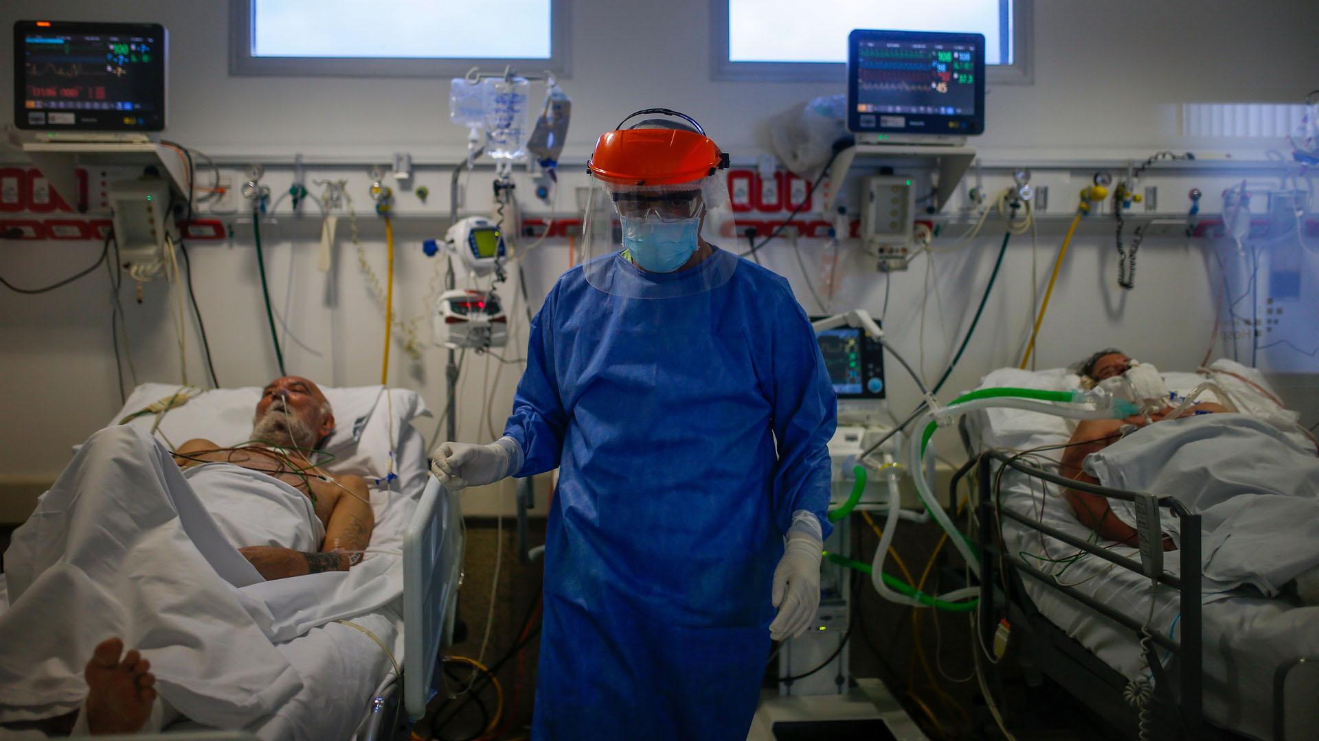 Coronavirus: Casi no quedan camas de terapia intensiva en la Ciudad de Buenos Aires
