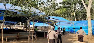 Tim Cobra Grebek Sabung Ayam di Desa Mlawang