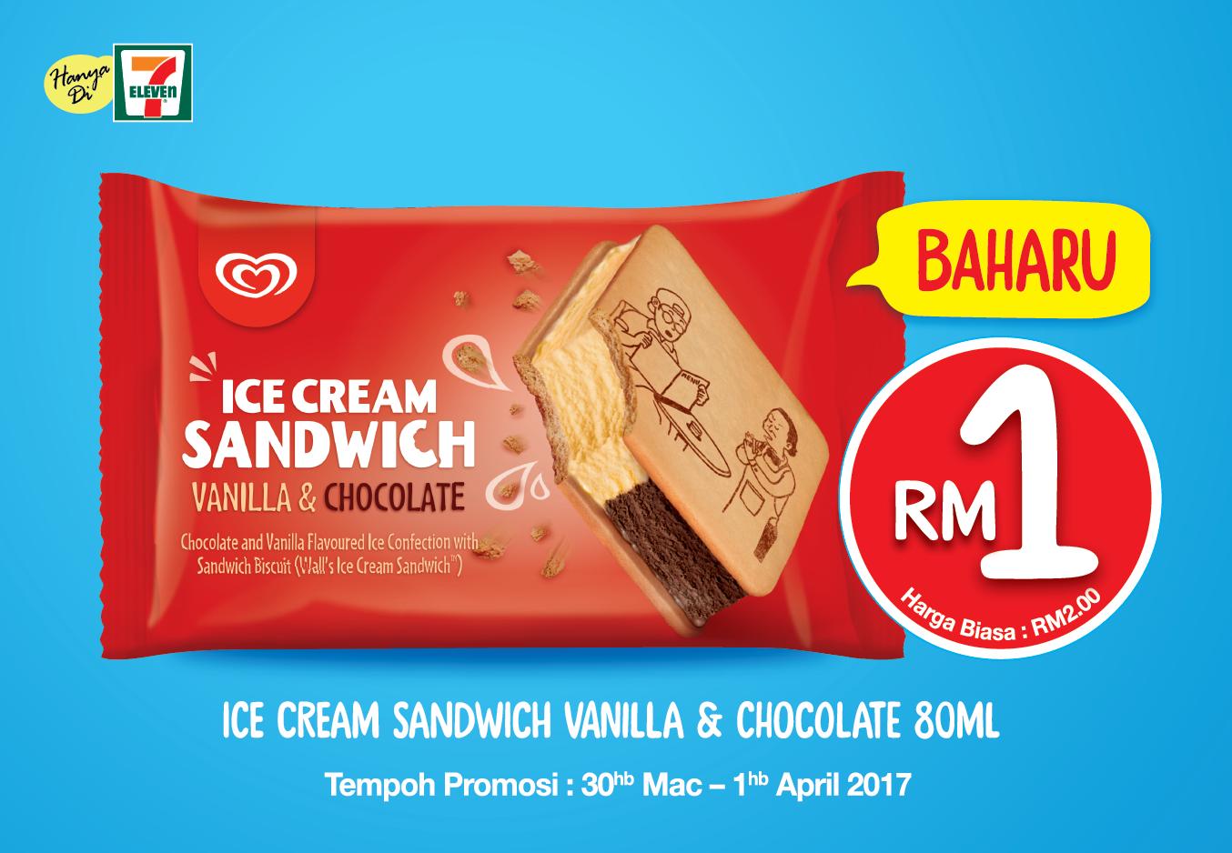 BestLah: 7-Eleven - Enjoy Wall's Ice Cream Sandwich For ...