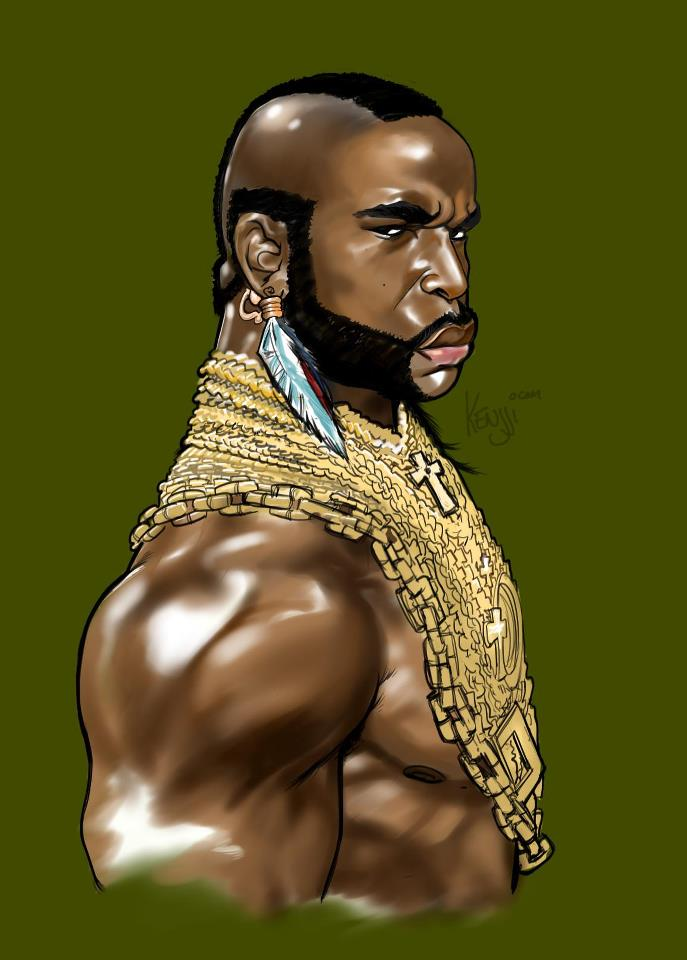 100+ Mr. T photos when young