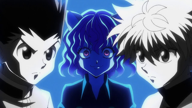 wallpaper hunter x hunter gon, neverpitou, killua